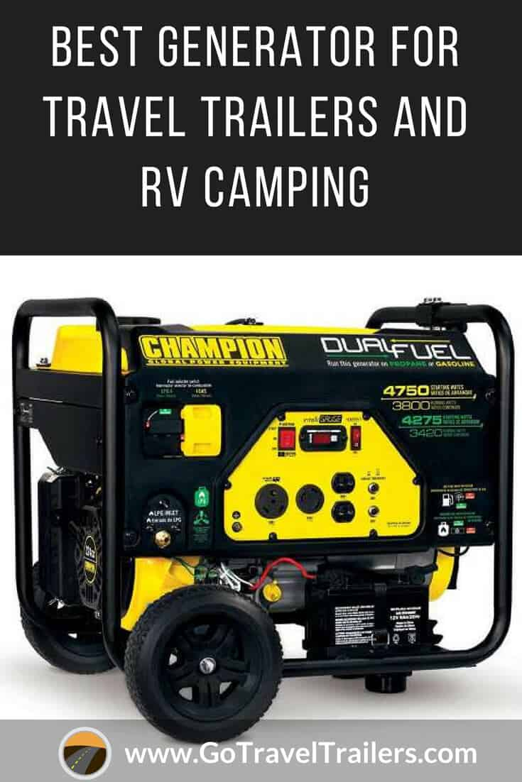 Best Generators For Travel Trailers You Should Consider Go