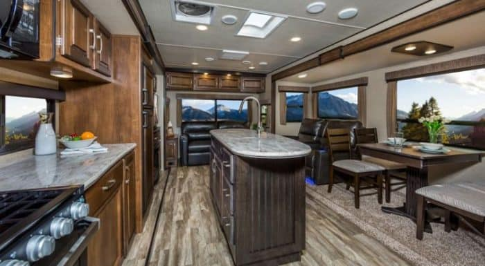 Luxury Travel Trailers These 5 Interiors Will Amaze You