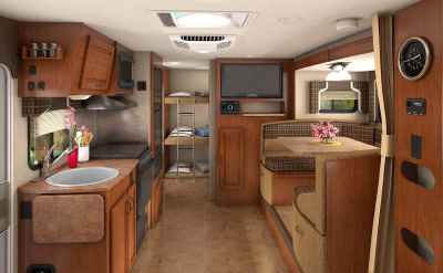 travel trailers with bunk beds