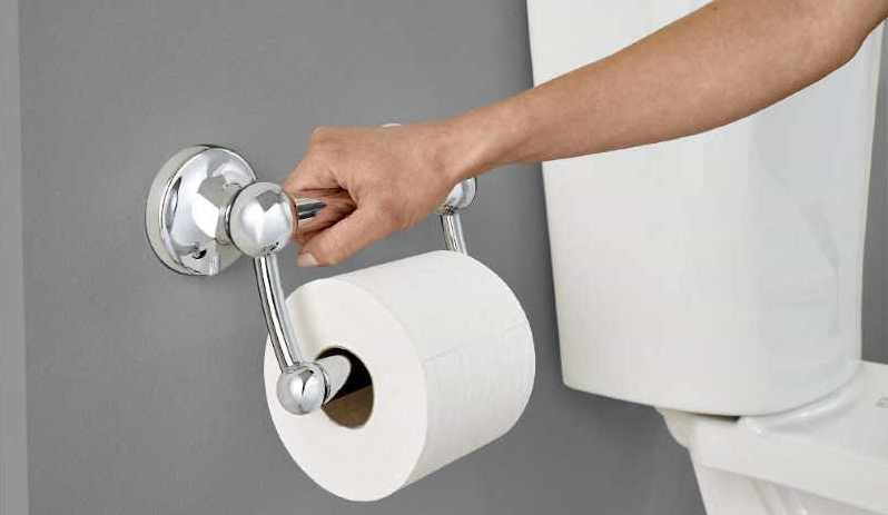 How to install an RV toilet paper holder