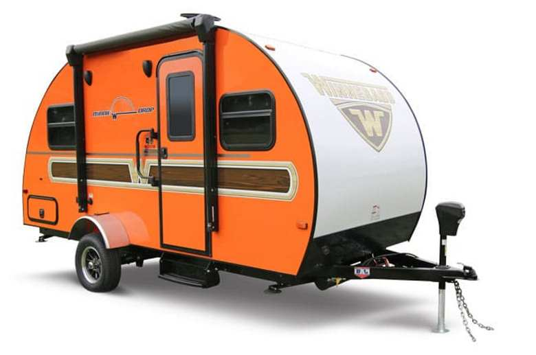 Winnebago Minnie Drop Woody Orange Graphics