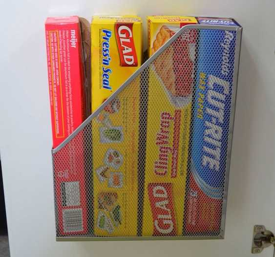Use A Magazine Holder For Added Storage
