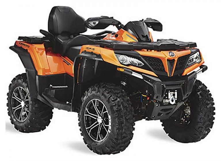 The CForce 800 XC, part of the CForce Series, is one CFMOTOs most popular ATVs.