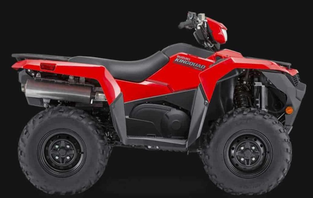 The Suzuki Kingquad 750 AXi is one of the best ATVs Suzuki has produced