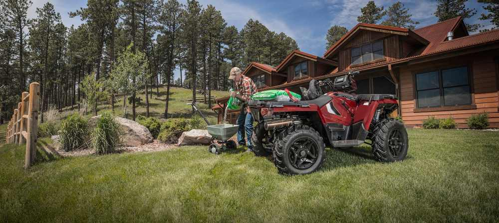 The Polaris Sportsman 570 EPS is considered to have the best engine in Polaris' entire selection of ATVs