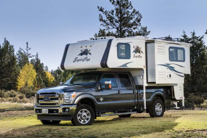 This is a truck camper