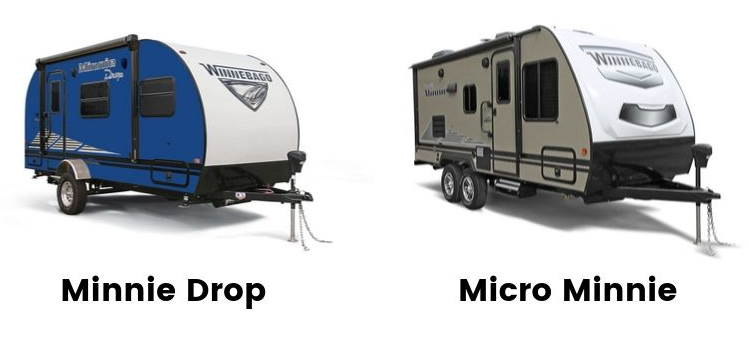 Winnebago Minnie Drop versus Micro Minnie