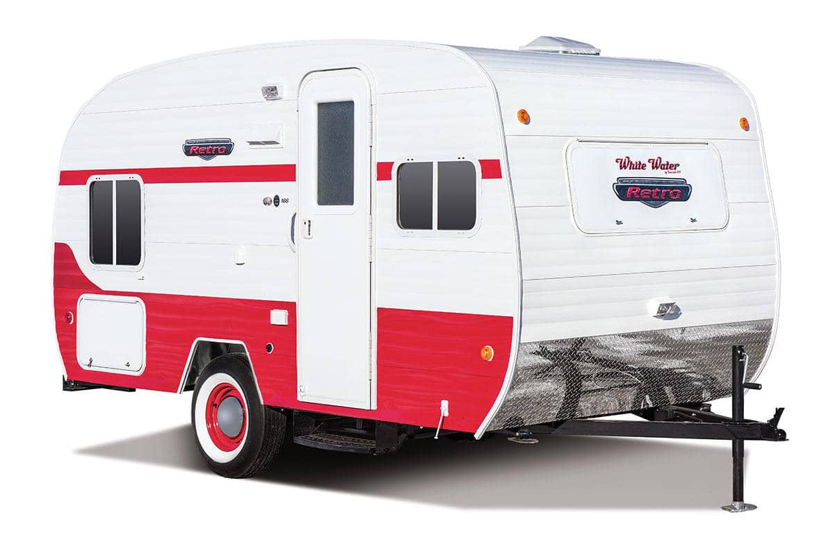 8 Awesome Retro Campers